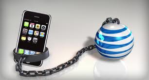 ATT iphone shackle