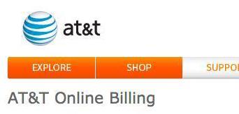 AT&T Online Billing