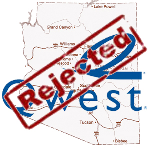 Qwest Petition Rejected in Arizona