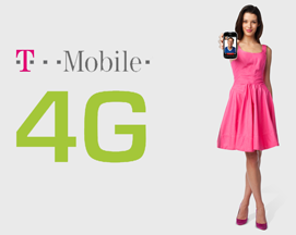 T-Mobile Girl Logo 4G