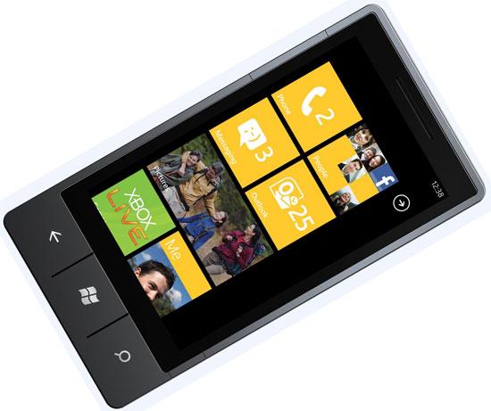 Windows Phone 7 handset